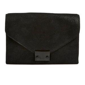 NEW Loeffler Randal Leather clutch